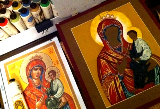 Icon painting 2