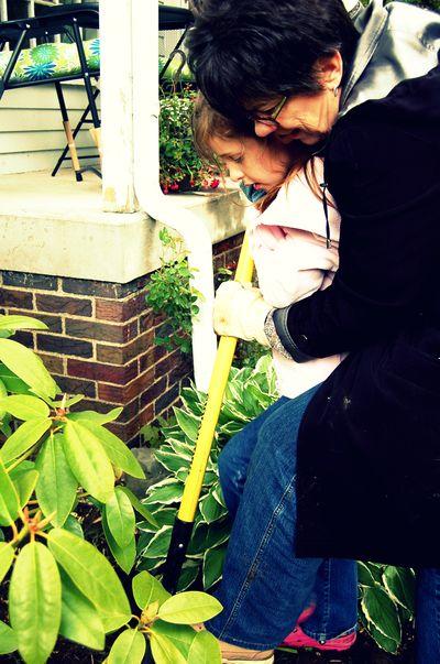 Prissy gardening