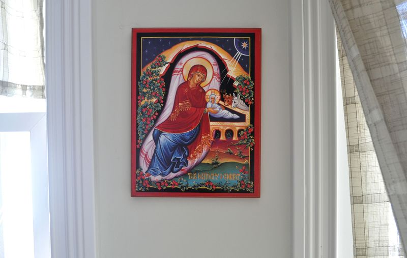 Nativity icon 1